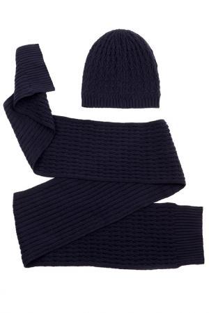 Комплект: шапка, шарф Moltini. Цвет: мультицвет