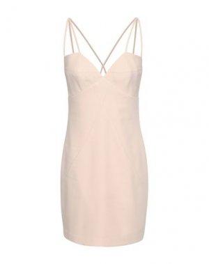Короткое платье BLACK HALO. Цвет: светло-розовый