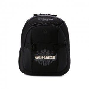 Рюкзак Harley-Davidson. Цвет: чёрный