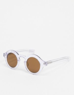 Солнцезащитные очки в прозрачной оправе -Очистить Spitfire