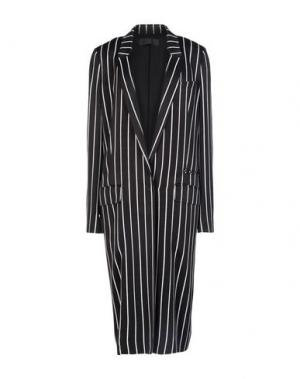 Легкое пальто HAIDER ACKERMANN. Цвет: черный