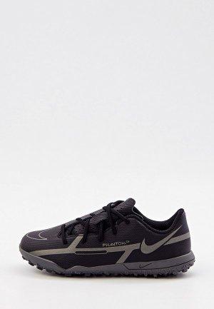 Шиповки Nike JR PHANTOM GT2 CLUB TF. Цвет: черный