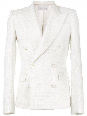 Пиджак с заостренными лацканами Faith Connexion. Цвет: белый