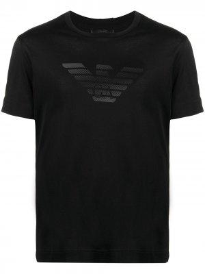 Logo-print T-shirt Emporio Armani. Цвет: черный