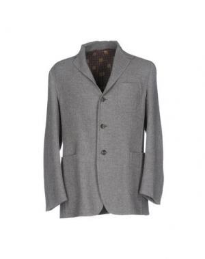 Пиджак STILE LATINO. Цвет: серый