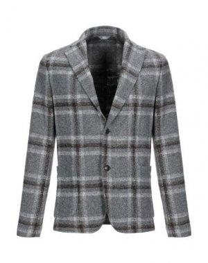 Пиджак FRADI. Цвет: серый