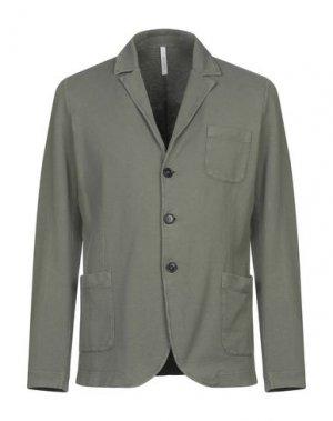 Пиджак BELLWOOD. Цвет: зеленый-милитари