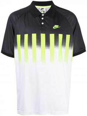 Рубашка-поло с логотипом Nike. Цвет: белый