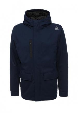 Куртка утепленная Reebok OD PAD PRKA. Цвет: синий