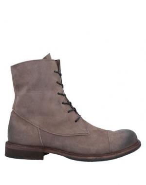 Полусапоги и высокие ботинки ERNESTO DOLANI. Цвет: светло-коричневый
