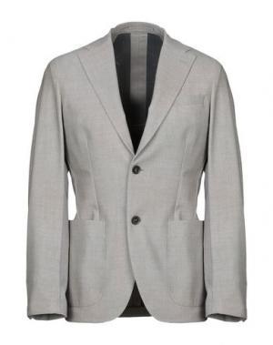 Пиджак TRAIANO. Цвет: голубиный серый