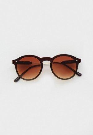 Очки солнцезащитные Eyelevel Finley. Цвет: коричневый