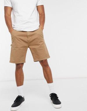Бежевые шорты карго -Светло-бежевый Esprit