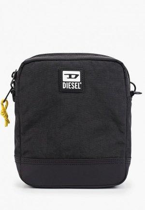 Сумка Diesel. Цвет: черный