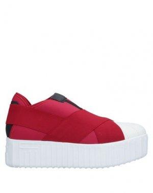 Низкие кеды и кроссовки FESSURA. Цвет: красный