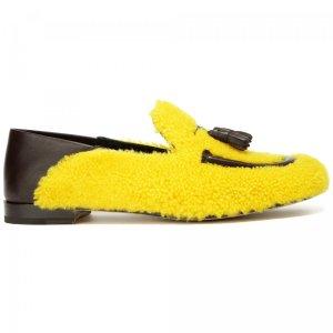 Слиперы Fratelli Rossetti. Цвет: жёлтый
