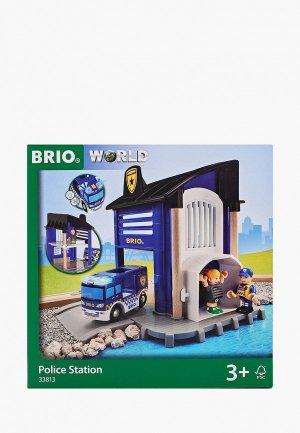 Конструктор Brio Полицейский участок, 6 деталей. Цвет: разноцветный