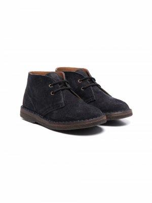 Ботинки на шнуровке Pèpè. Цвет: серый
