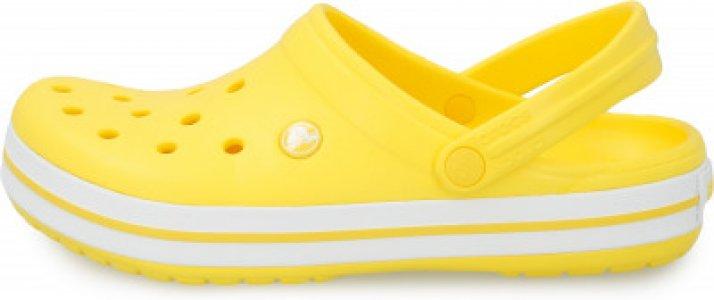Шлепанцы Crocband, размер 39-40 Crocs. Цвет: желтый