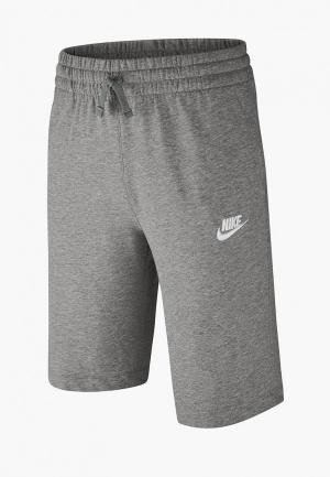 Шорты Nike BOYS SPORTSWEAR SHORT. Цвет: серый