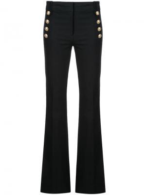 Расклешенные брюки с декоративными пуговицами Robinson Derek Lam 10 Crosby