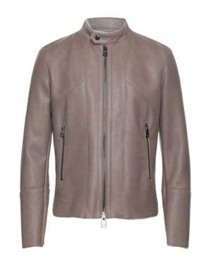 Куртка DACUTE. Цвет: голубиный серый