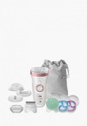 Эпилятор Braun Silk-epil 9 SkinSpa SensoSmart 9/990. Цвет: белый