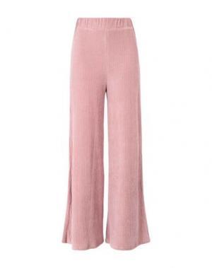 Повседневные брюки FREE PEOPLE. Цвет: розовый