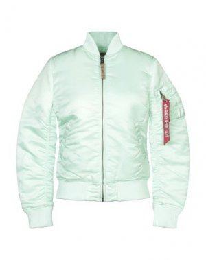 Куртка ALPHA INDUSTRIES. Цвет: светло-зеленый