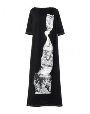 Длинное платье I'M ISOLA MARRAS. Цвет: черный