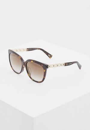 Очки солнцезащитные Marc Jacobs 334/F/S 086. Цвет: коричневый