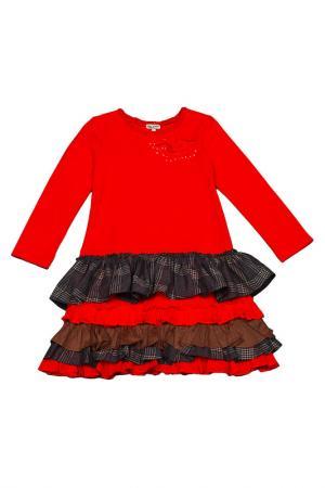 Платье Eliane Et Lena. Цвет: красный