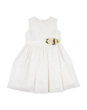 Платье LESY. Цвет: слоновая кость