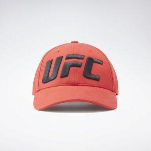 Бейсболка UFC Logo Reebok. Цвет: legacy red