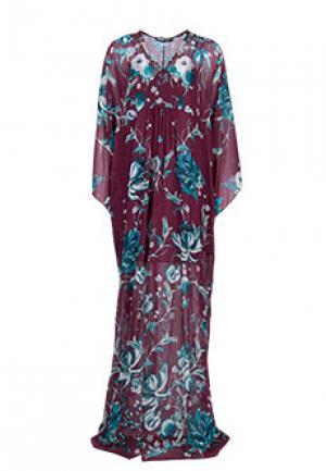 Платье ROBERTO CAVALLI. Цвет: разноцветный