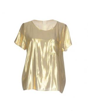 Блузка DES PETITS HAUTS. Цвет: золотистый