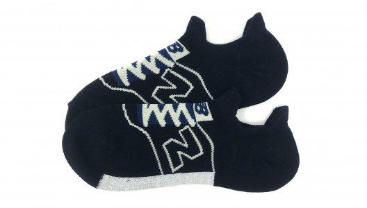 Носки Sneaker Fit No Show 1 Pair New Balance. Цвет: черный