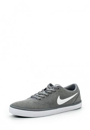 Кеды Nike MENS SB CHECK SOLARSOFT SKATEBOARDING SHOE. Цвет: серый