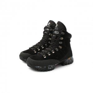 Комбинированные ботинки Midtrecd Premiata. Цвет: серый