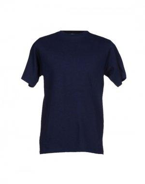 Футболка DUPE. Цвет: темно-синий