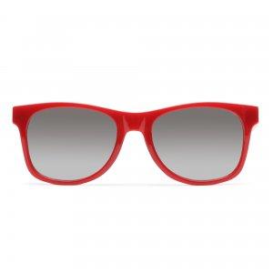 Солнцезащитные очки Vans. Цвет: красный