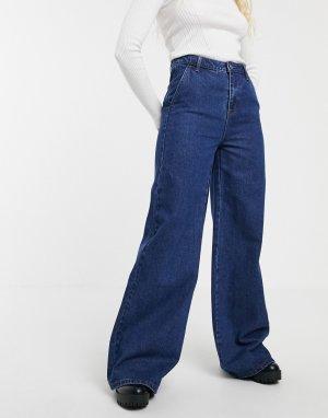 Расклешенные джинсы -Темно-синий Blend She