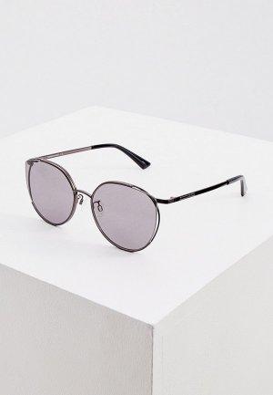 Очки солнцезащитные McQ Alexander McQueen MQ0288SA. Цвет: черный
