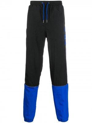 Спортивные брюки в стиле колор-блок Fila. Цвет: черный