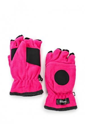 Перчатки Ignite. Цвет: фуксия