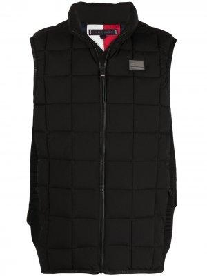 Дутый жилет Essential Tommy Hilfiger. Цвет: черный