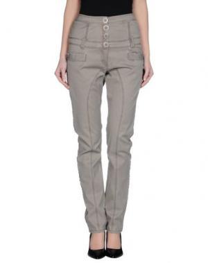 Повседневные брюки DEPT. Цвет: серый