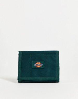 Бумажник хвойного цвета Kentwood-Зеленый цвет Dickies