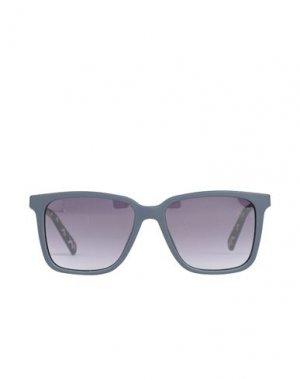 Солнечные очки TED BAKER. Цвет: свинцово-серый