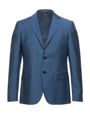 Пиджак MP MASSIMO PIOMBO. Цвет: грифельно-синий